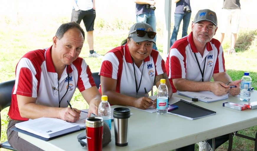 Judges at the 2013 Airborne Delivery Challenge event